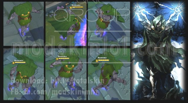 Mod Skin LOL Download Free: [Mod Skin] Malzahar Doctor Doom