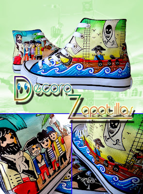PIRATES CUSTOM SHOES