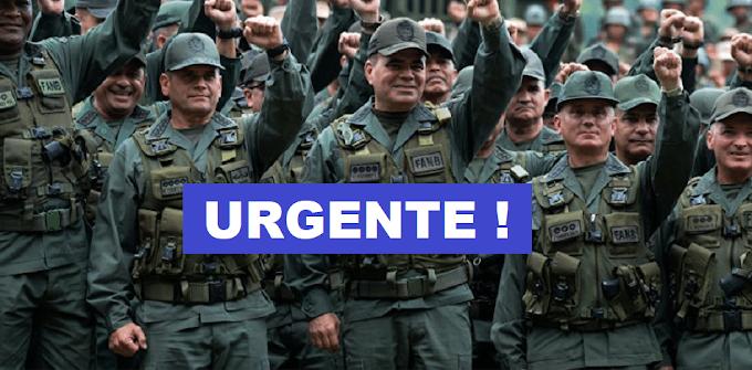 Com apoio do povo, Militares iniciam intervenção na Venezuela