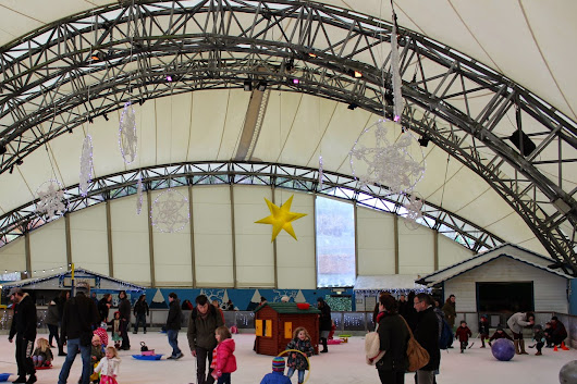 Days out - Toddlers on Ice at the Eden Project