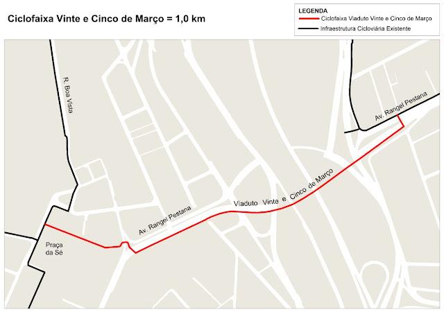 Ciclovia Viaduto 25 de Março