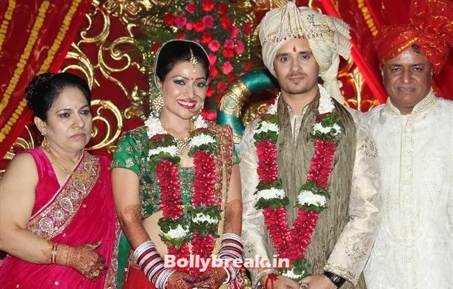 Raghav Sachar and Amita Pathak, Raghav Sachar, Amita Pathak Wedding Reception Pics