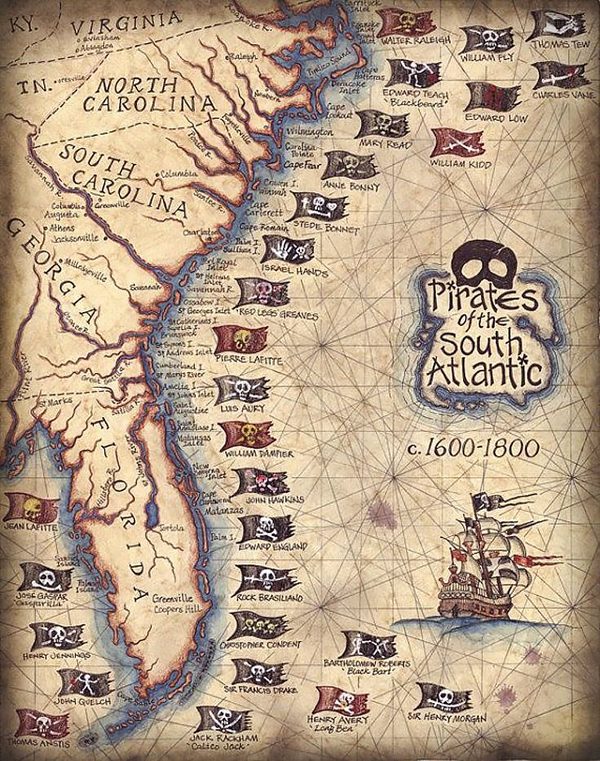 Piracy of the South Atlantic