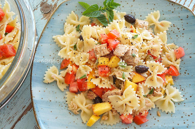 Farfalle with Tuna & Caper