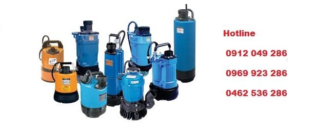 máy bơm nước thải chính hãng nhập khẩu Nhật Bản