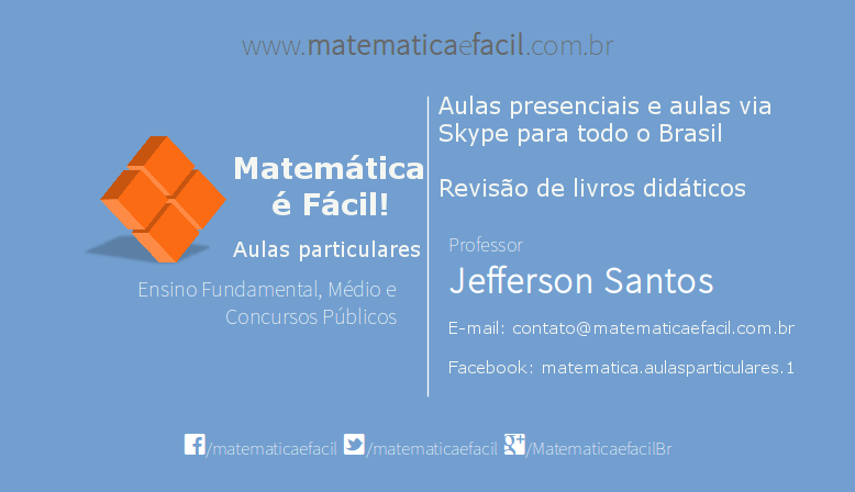 Curso de Matemática para o concurso do Tribunal de Justiça / TJ – SP