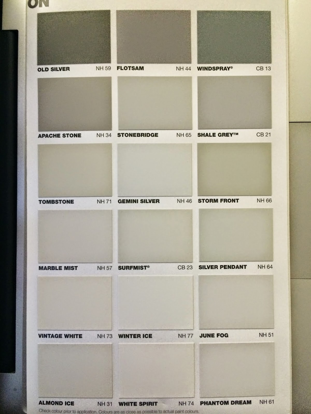 Just Another Building Blog Pre Selection Day Colour Choices