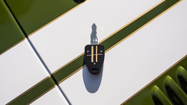 Caterham Seven Harrods -  Detalles exclusivos de la casa de personalización Harrods