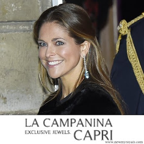 Princess Madeleine La Campanina Capri Jewelry diamond earrings
