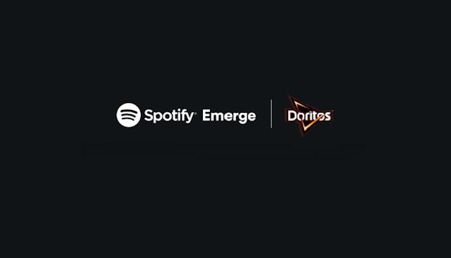 EMERGE DE SPOTIFY Y DORITOS