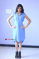 Telugu Actress Mounika UHD Stills in Blue Short Dress at Tik Tak Telugu Movie Audio Launch .COM 0117.JPG