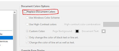 make black as background color in pdf