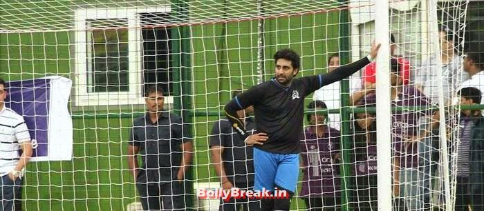 Abhishek Bachchan, Bollywood Celebs play football match for Aamir khan's daughter Ira Khan