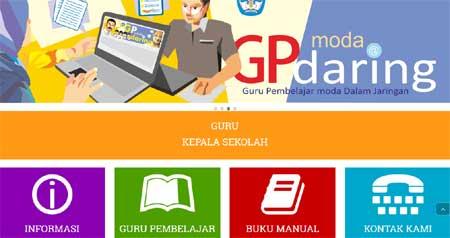 tampilan halaman depan situs gurupembelajar.kemdikbud.go.id