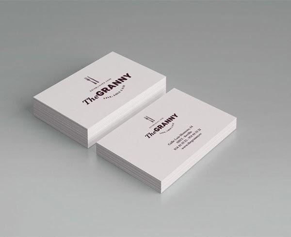 20 Effective Restaurant Business Card Design Ideas  Jayce