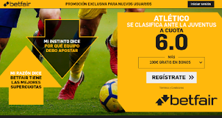 betfair supercuota Atlético se clasifica para la siguiente ronda 12 marzo 2019
