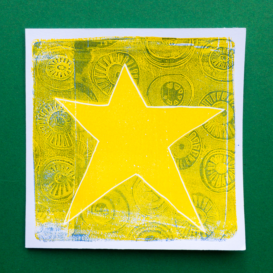 printing with gelli arts