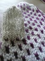 tricot moufle