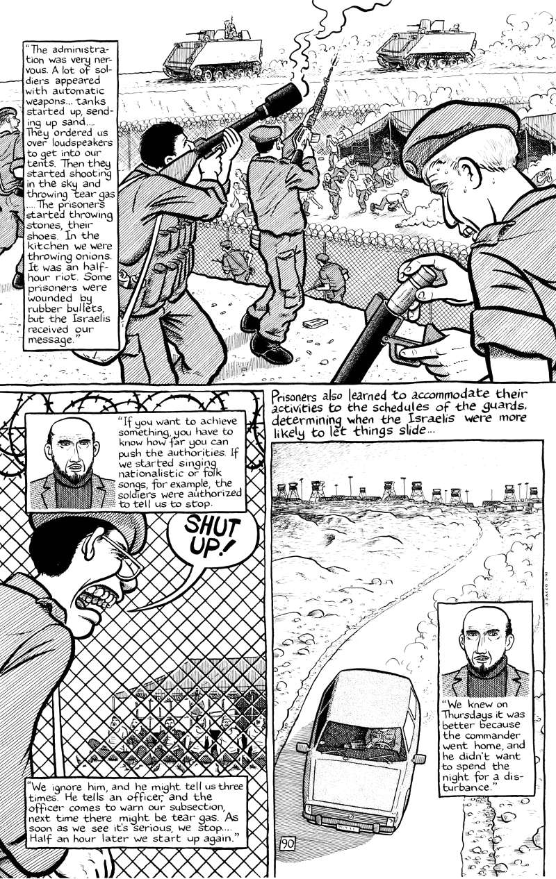 Page 90 - Chapter 4 of Joe Sacco - Palestine Online