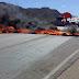 BR 232 bloqueada agora em Serra Talhada pela FETRAF-PE
