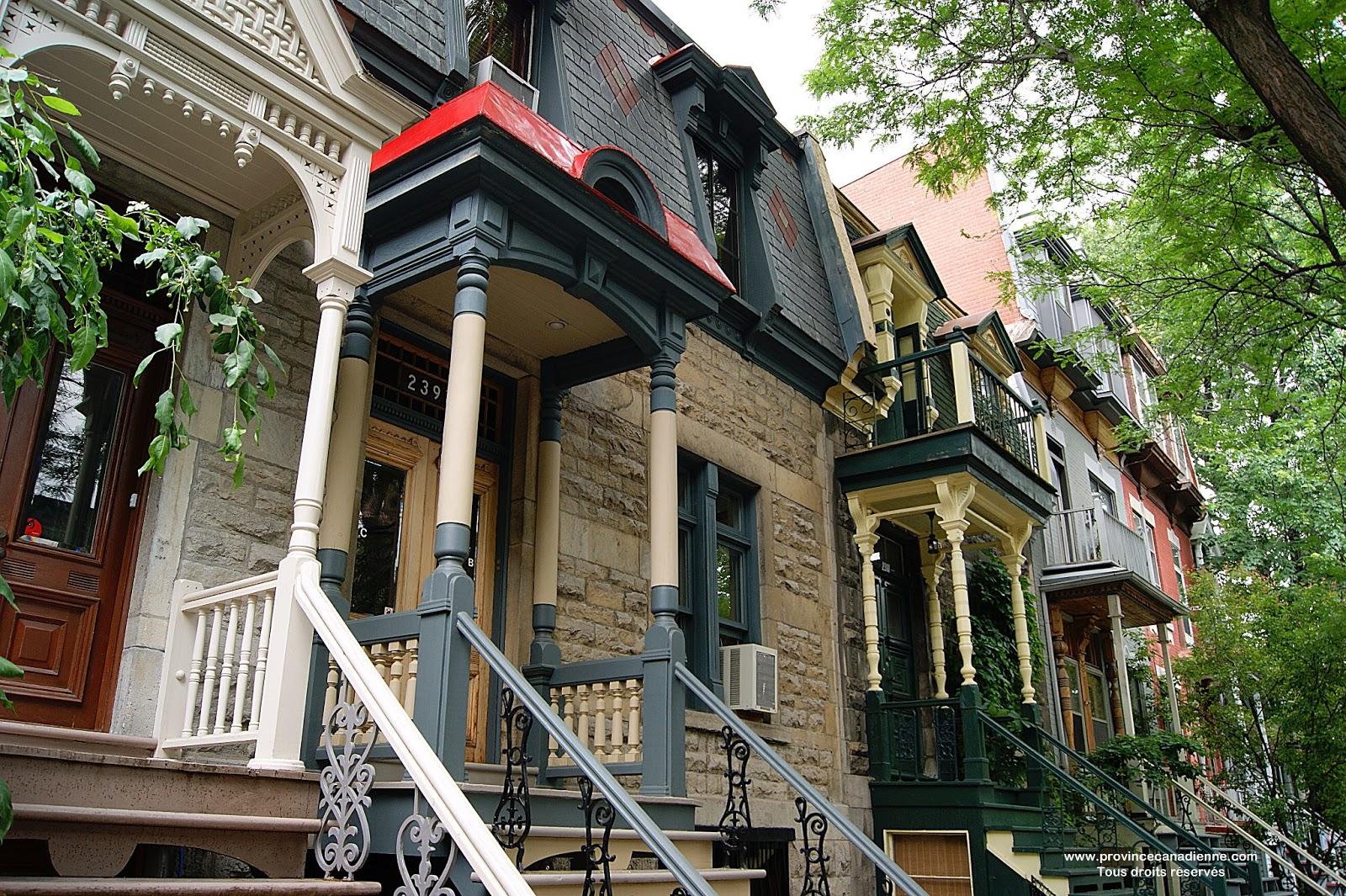 Province canadienne la rue coursol montr al for A la maison de pierre et dominique montreal