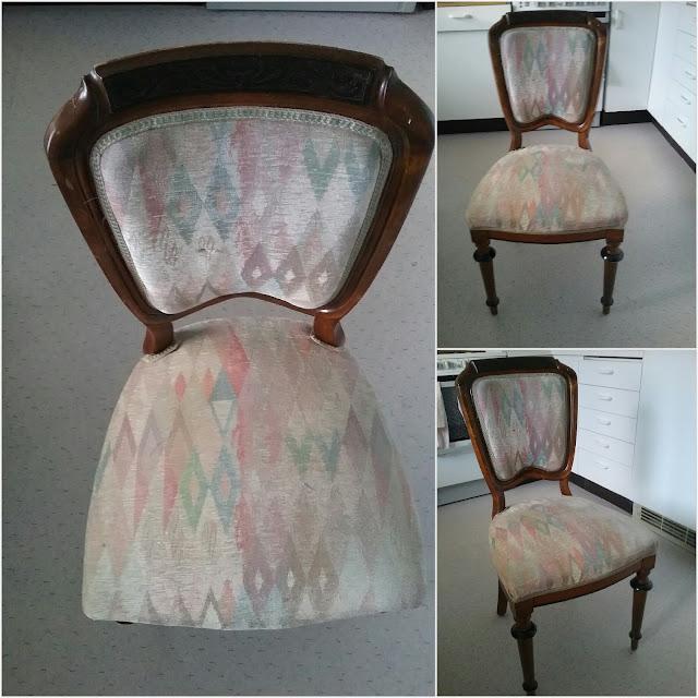 Metamorfoza starego krzesła