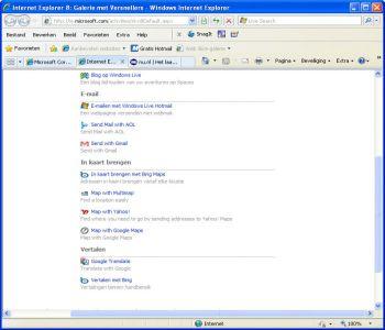 Internet Explorer Vista 9.0 Vista Screenshot 4