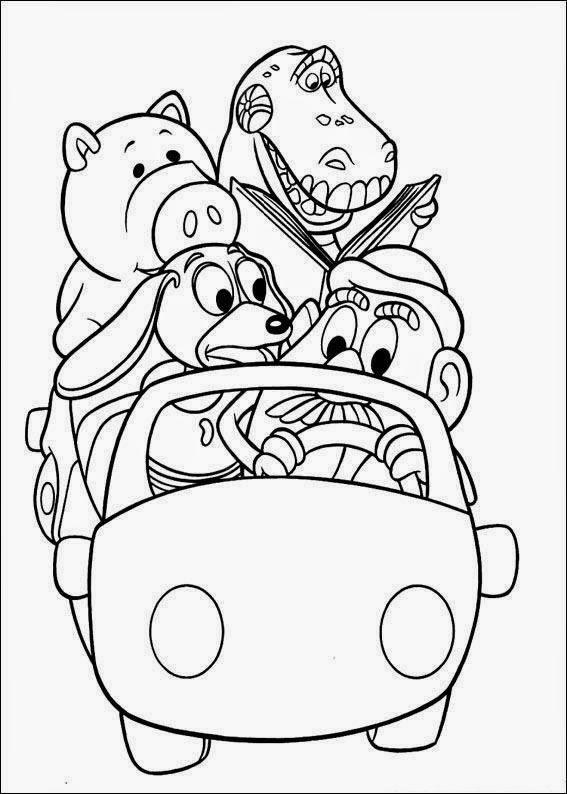 Maestra de Infantil: Toy Story y Buzz Lightyear. Dibujos