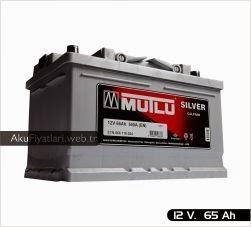 mutlu akü silver serisi 12 volt 65 amper