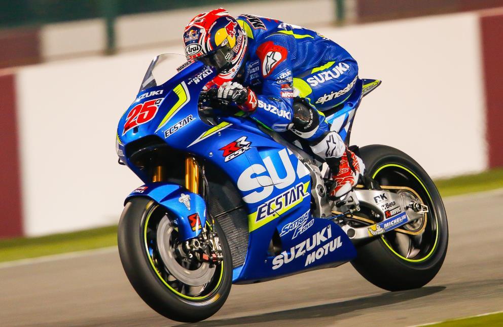 MotoGP : Jika dalam 6 seri pertama Suzuki GSX-RR tak juga bisa kompetitif . . Maverick Vinales akan pindah dari Suzuki ?