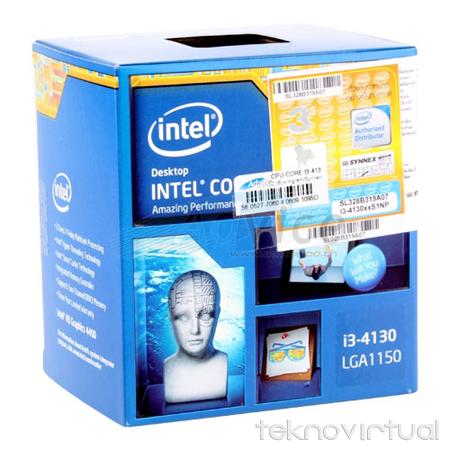 Prosesor Intel i3 4130 Box