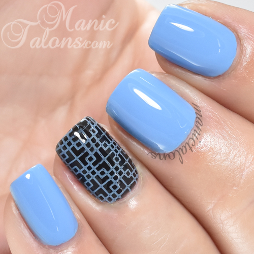 INM Out The Door Nail Lacquer Cotton Candy Dandy Swatch