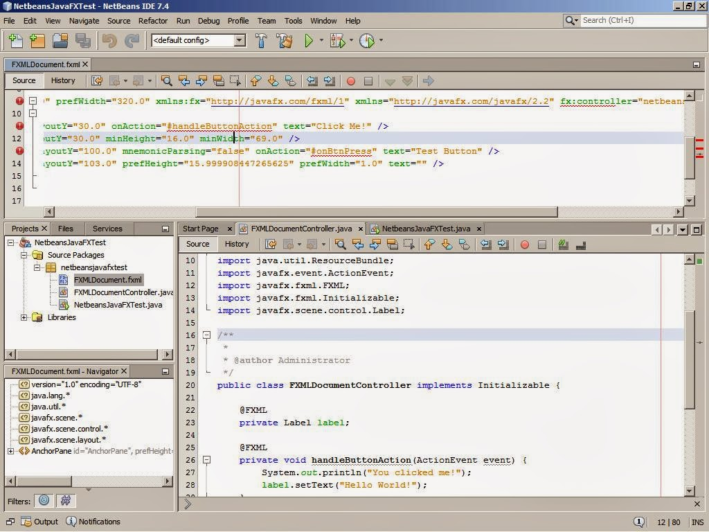 Tutorial raptor netbeans android