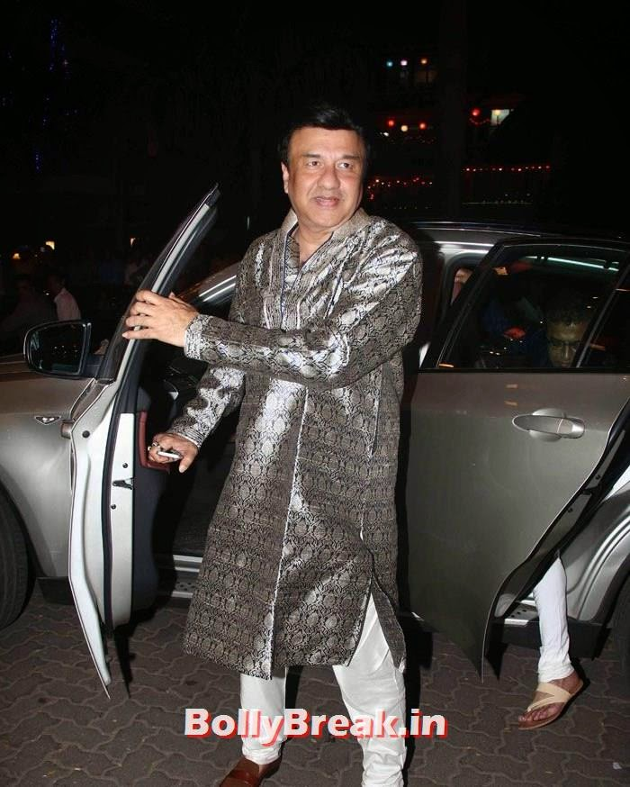 Anu Malik, Photos from Amitabh Bachchan's Diwali Bash 2014