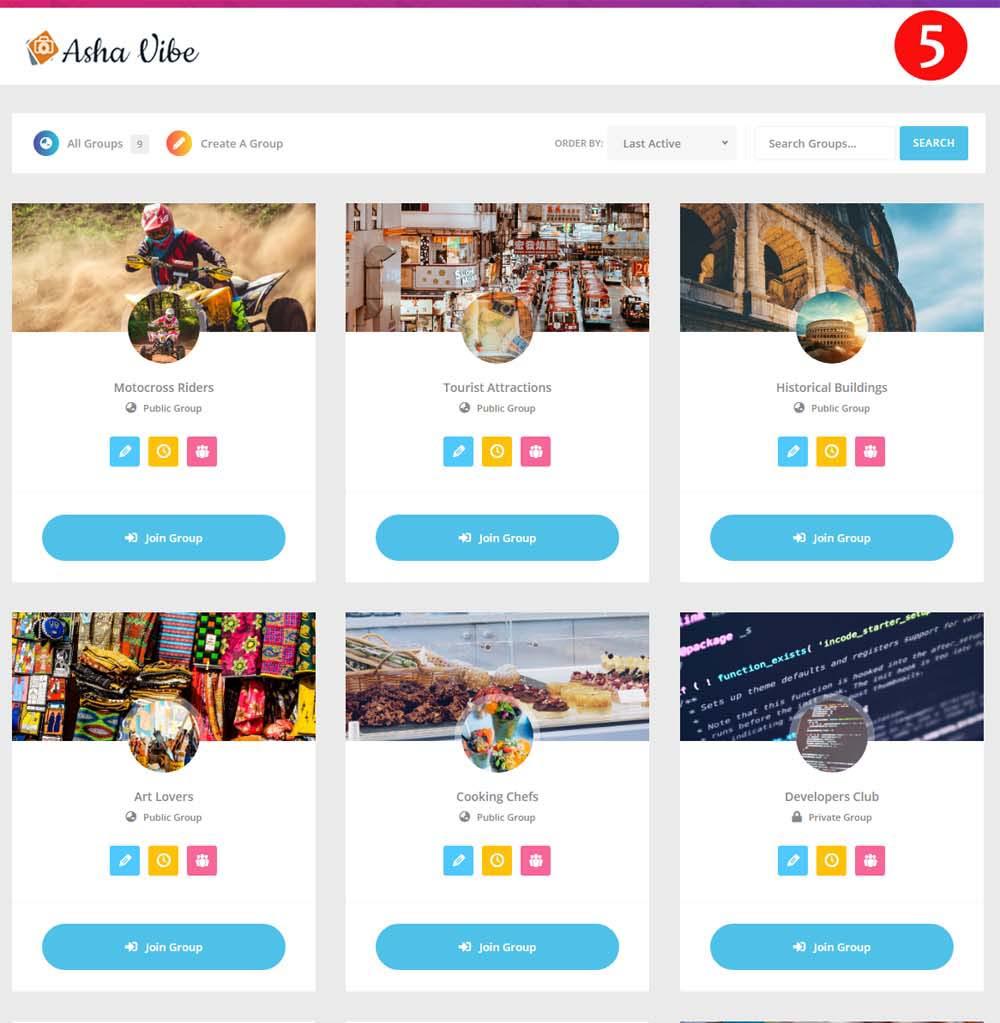 ashavibe create free social networking site like facebook- फेसबुक की तरह ही अपनी खुद की सोशल नेटवर्किंग साइट बनाये