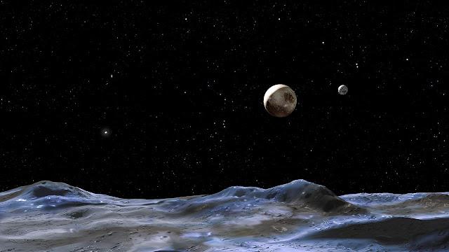 Plutão, Michell Hilton