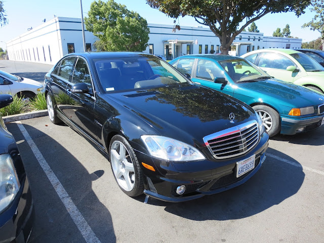 The incomparable Mercedes Benz S65 AMG after collsion repairs at Almost Everything Auto Body.