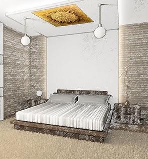 Arredo e design come appendere i quadri - Quadri sopra il letto ...