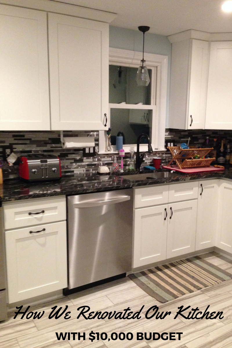 How We Renovated Our Kitchen With $10,000 Budget