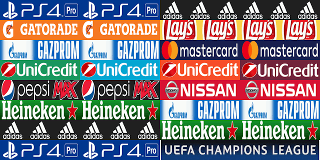 PES 2013 Real Madrid, Barcelona, UCL Adboards for GDB by m4rcelo