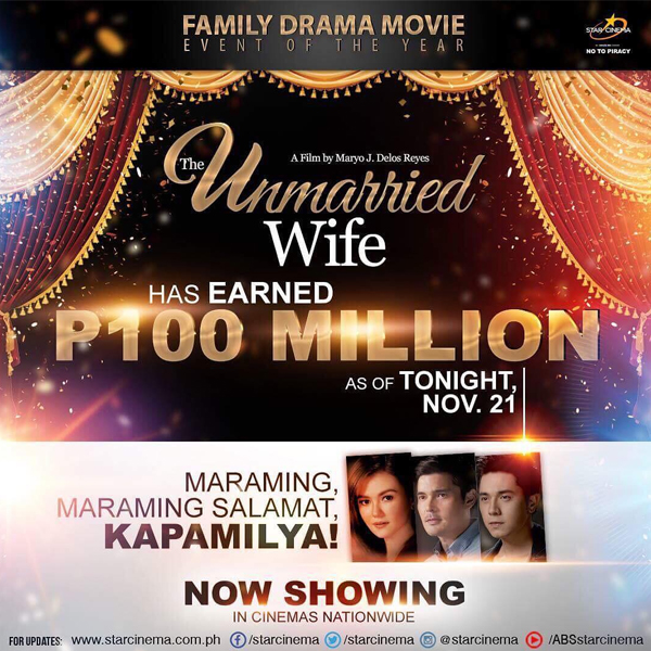 The Unmarried Wife breaches 100 million mark after 6 days in cinemas