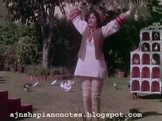 Pankh Hote Toh Udd Aati Re Piano Notes from Sehra