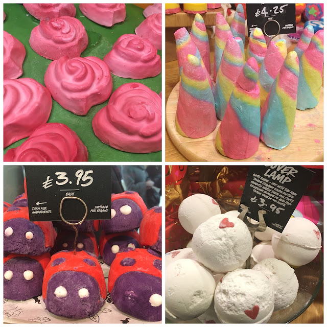 Valentines Day with Lush