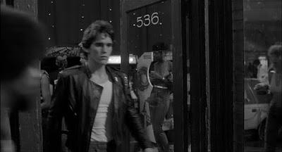 Salon de recreativos película La ley de la calle - 1983
