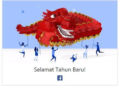 Facebook Dan Google Doodle Rayakan Tahun Baru Imlek