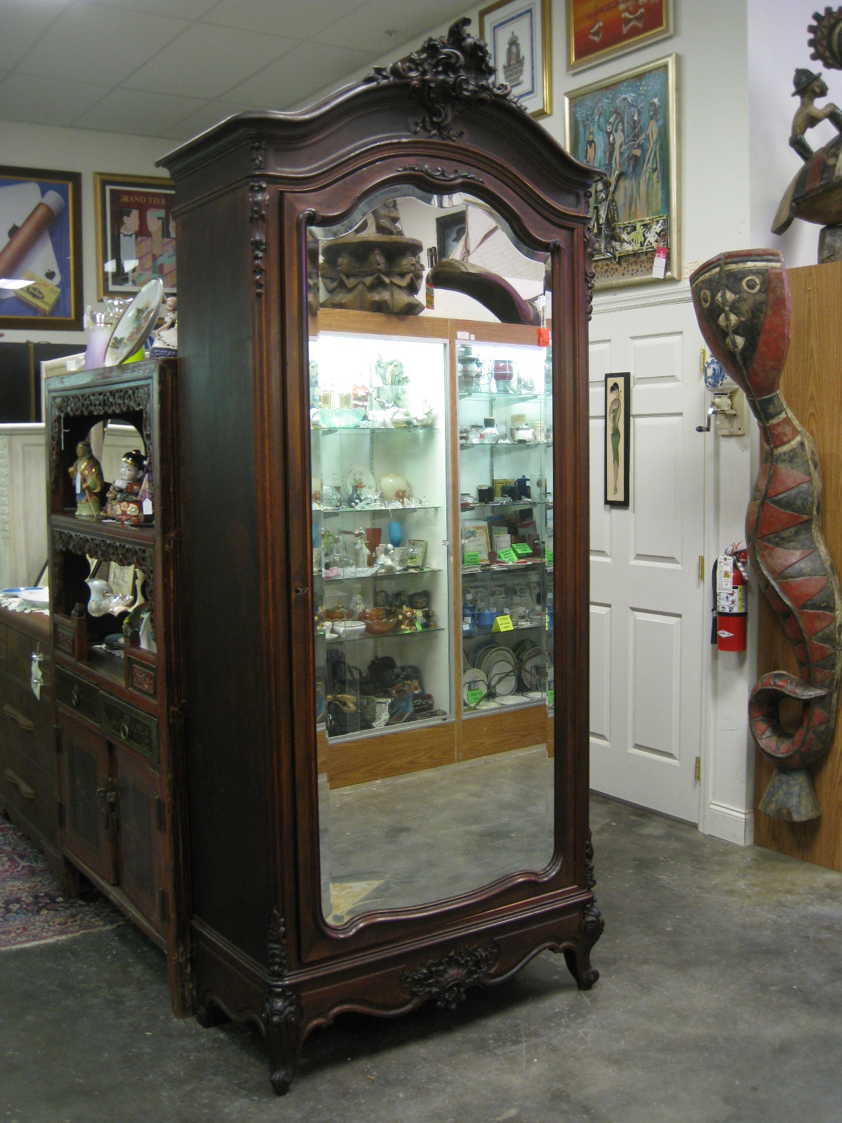Antiques Art And Collectibles Vintage Armoire Old World