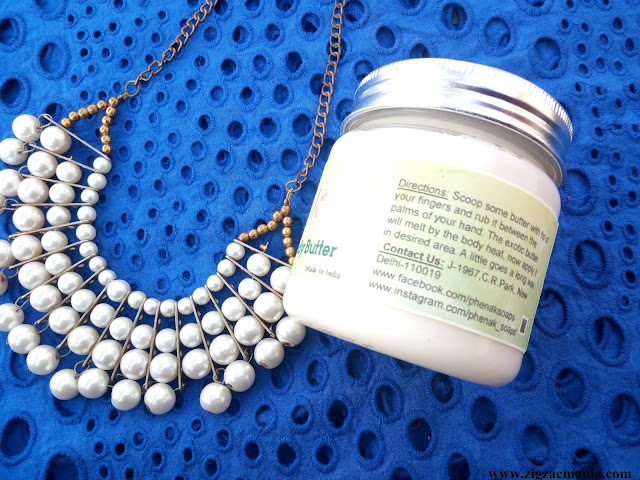 Phenak Rich Chocolate Body Butter Review