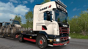 Case IH Scania R skin updated