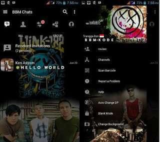 BBM Mod Blink APK - wasildragon.web.id