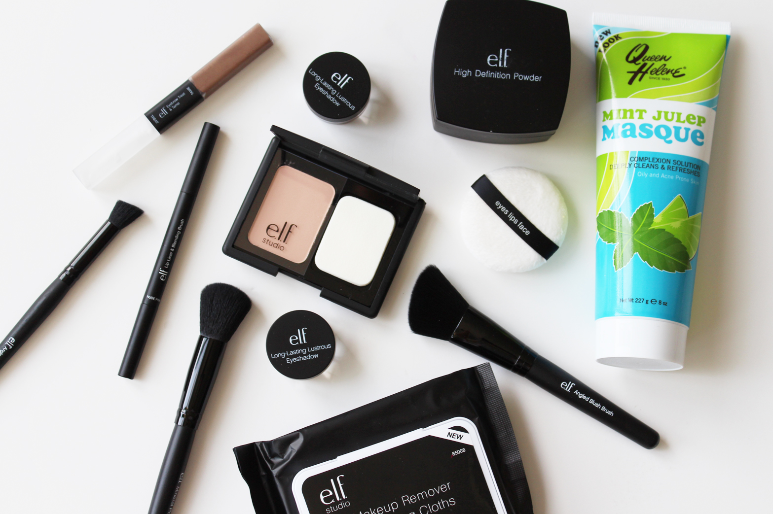 iHERB HAUL | e.l.f. Studio, Queen Helene + More - Swatches + First Impressions - CassandraMyee